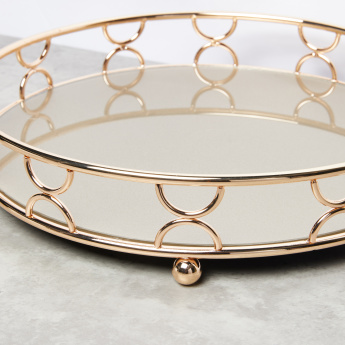 Decorative Circular Tray