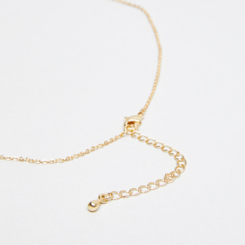 Sasha Studded Scorpio Pendant Necklace with Lobster Clasp