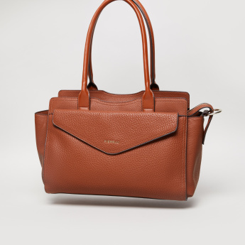 Fiorelli Textured Tote Bag with Zip Closure