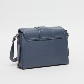 Sasha Satchel Bag with Magnetic Snap Closure