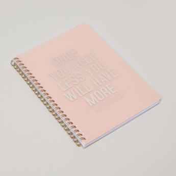 Syloon Printed Single Lined Notebook