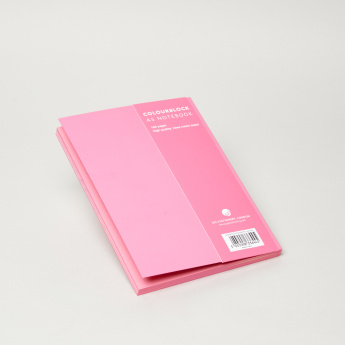 Go Stationery Colour Block Solid Notebook