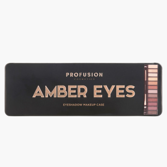 Profusion Cosmetics Amber Eyes Eyeshadow Makeup Case