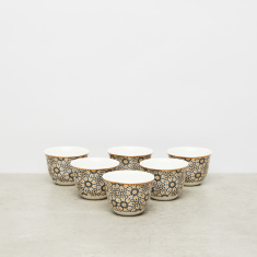 Printed Cawa Cups - Set of 6