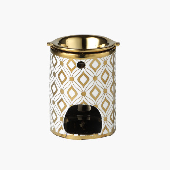 Cylindrical Shaped Oil Burner - 9x9x13 cms