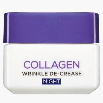 L'Oreal Collagen Wrinkle De-Crease Night Cream - 50 ml