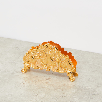 Golden Plated Napkin Holder