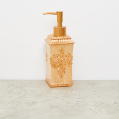 Embossed Lotion Dispenser with Pump