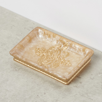 Embossed Soap Dish