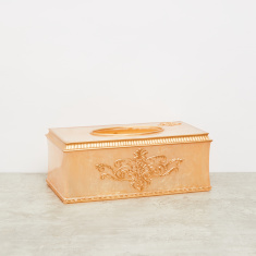 Embossed Tissue Box Cover