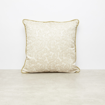 Braylon Jacquard Cushion with Zip Closure - 45x45 cms
