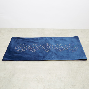 Embellished Damask Table Runner - 30x180 cms