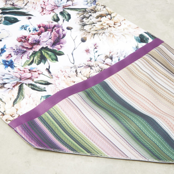 Floral Digital Printed Table Runner - 33x180 cms