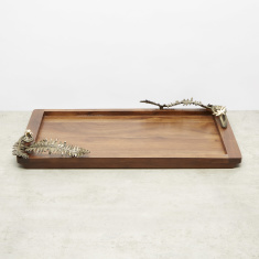 Embellished Rectangular Tray