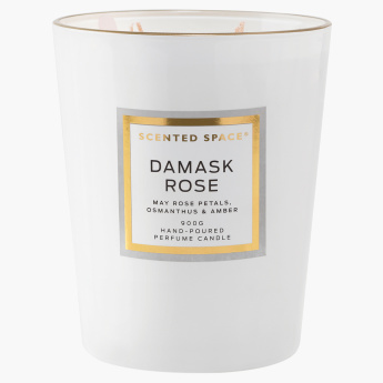 Scented Space Damask Rose 4-Wick Candle - 900 gms