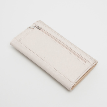 Guess Ansel Stitch Detail and Textured Wallet