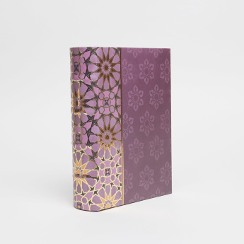 Punch Studio Jewel Tones Printed Nested Storage Book Box