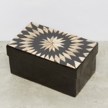 Handcrafted Kaleidoscope Decorative Box - 17.75x10.75x7.62 cms