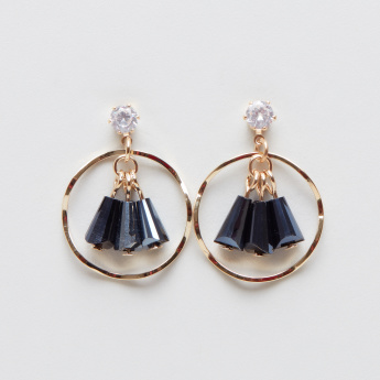 Embellished 2-Piece Dangler and Stud Earrings