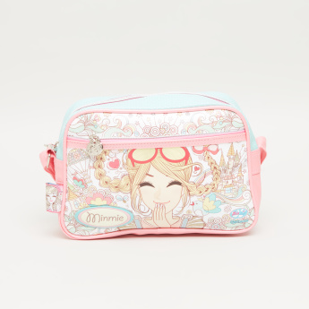 Minmie Goggles Printed College Bag