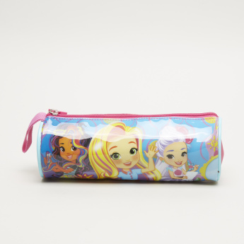 Sunny Day Printed Pencil Case with Zip Closure