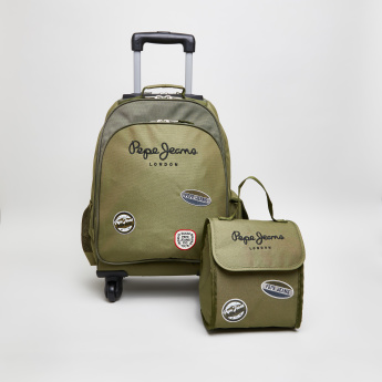 Pepe Jeans Kensigton Kaky Printed Lunch Bag