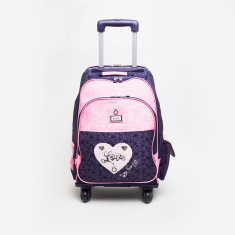 Enso Trolley Backpack with 4 Wheels - 32x15x45 cms