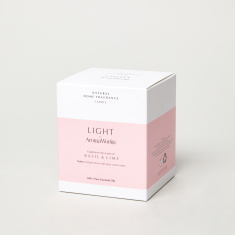 AromaWorks London Light Range Basil & Lime - 10.5x8.5 cms