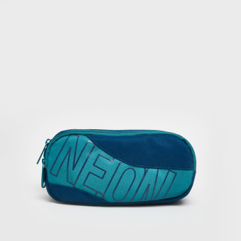 Neon Basic Pouch with Zip Closure