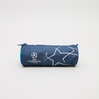Champions League Korp Printed Pencil Case with Zip Closure