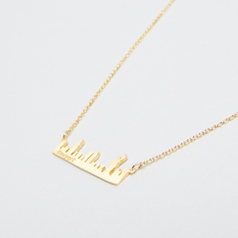 Skyline Collection New York Pendant Necklace