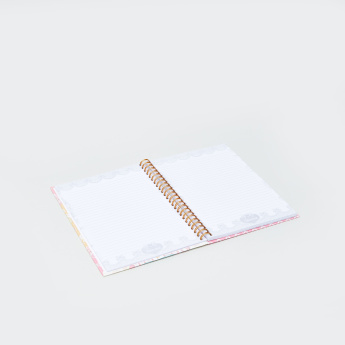 Minmie Bow Printed Spiral Bound Notebook