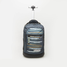 Pantone Abstract Print Trolley Backpack - 45x34x19 cms