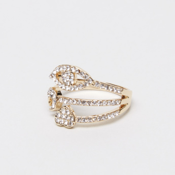 Stone-Studded Finger Ring