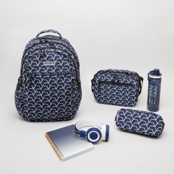 J World Printed 6-Piece Backpack Set + Free Tablet