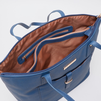 Caprese Glenn Textured Shopper Bag