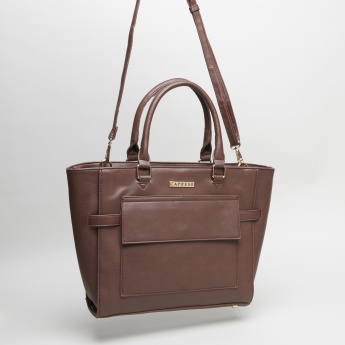 Caprese Debra Panelled Tote Bag with Sling Strap