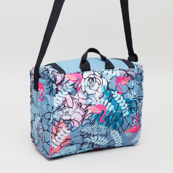 KAOS Flamingo Print Lunch Bag
