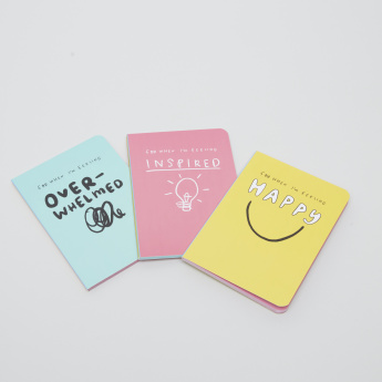Happy News Mini Journal - Set of 3