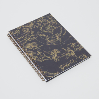 Studio Note Celestial Print A5 Notebook