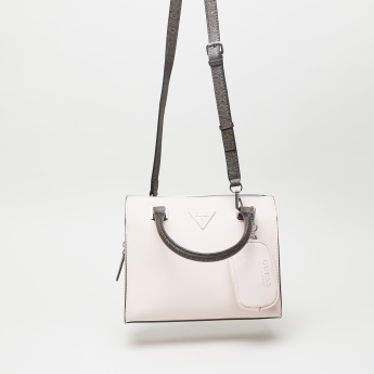 Guess Tote Bag with Coin Purse and Shoulder Strap