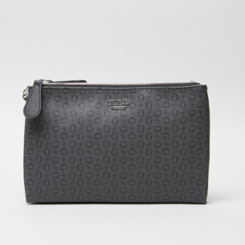 Guess Eddington Crossbody Bag with Zip Closure