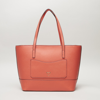 Guess Clarke Shopper Bag with Triangle Charm