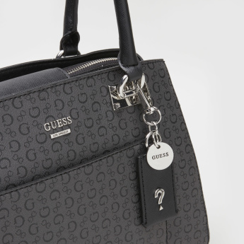 Guess Printed Tote Bag with Embellishment