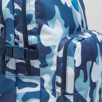 Camouflage Print Backpack - 45.5x32.5x11.5 cms
