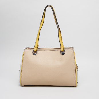 Guess Specter Shopper Bag with Contrast Straps