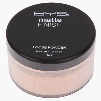 Bys Loose Powder Matte with Puff - 12 gms