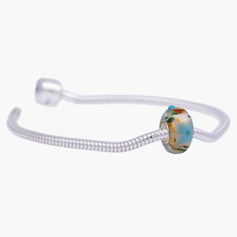 Charms Day Bello Vetro Starter Bracelet with Bead