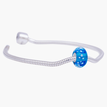 Charms Day Blu Reale Starter Bracelet with Bead