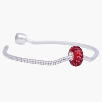 Charms Day Marea Crimson Starter Bracelet with Bead